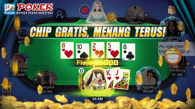Poker Texas Boyaa screenshot 1
