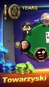 Poker Texas Polski poster
