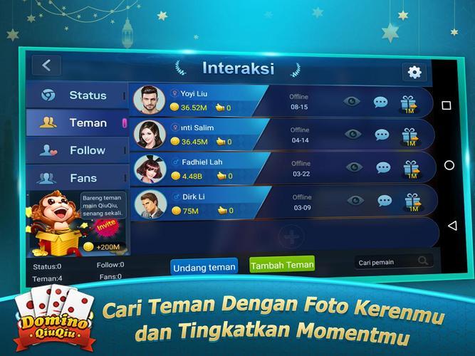 Boyaa Domino Qiuqiu Kiukiu 99 Apk 1 7 7 Download For Android Download Boyaa Domino Qiuqiu Kiukiu 99 Apk Latest Version Apkfab Com