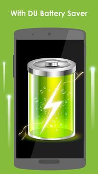 DU Battery Saver الملصق