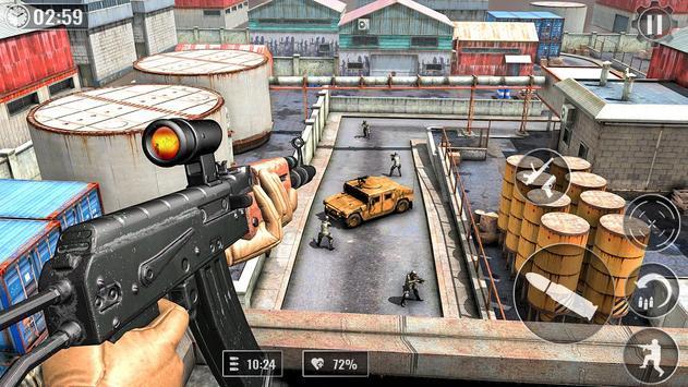 Real Anti-Terrorism: FPS US Commando Missions 2019 screenshot 11