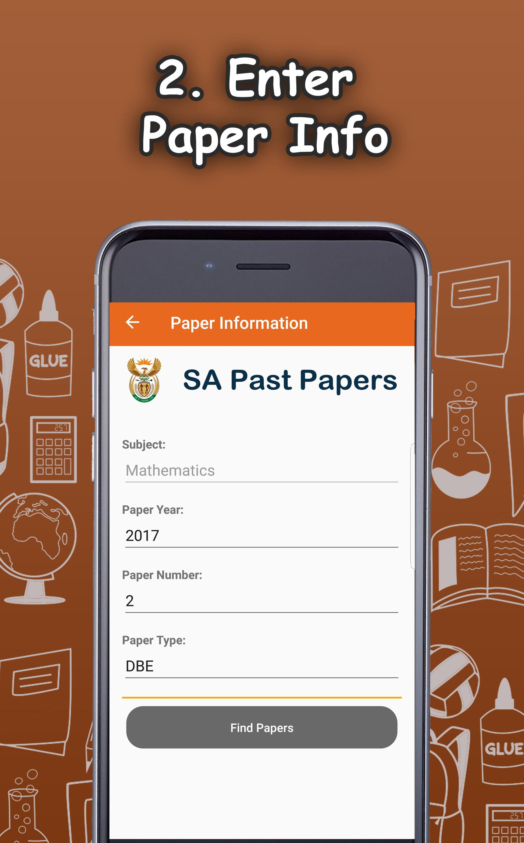 Papermate - Past Exam Papers - South Africa Matric for
