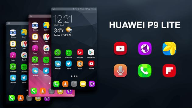 Ultimate HD Theme Launcher for Huawei P9 screenshot 4
