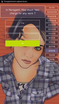 Millionaire Game (Anime Version) screenshot 3
