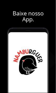 Namburguer Hamburgueria poster