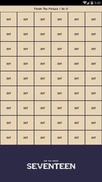 Seventeen Quiz Game screenshot 1