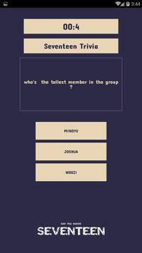 Seventeen Quiz Game screenshot 6