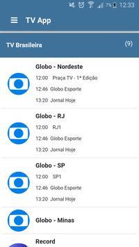 TV App imagem de tela 1