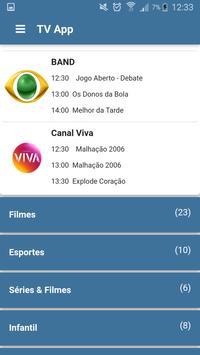 TV App imagem de tela 2