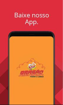 Disk Pizza Brasão poster