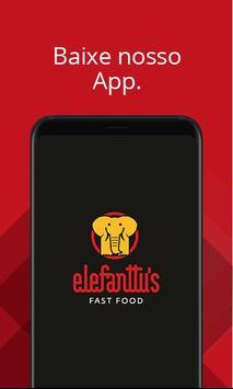 Elefanttus Fast Food poster