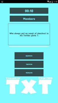 TxT Quiz poster