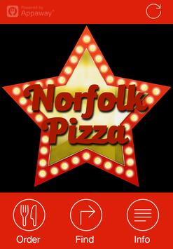Norfolk Pizza, Glossop poster