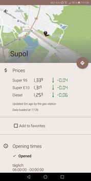 1 Schermata Spritpreise - günstig Tanken