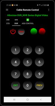Cable Remote Control Ekran Görüntüsü 3