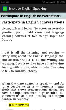 Improve English Speaking screenshot 4