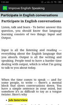 Improve English Speaking screenshot 12