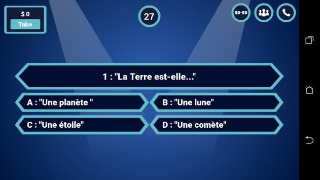 Millionaire Quiz - Fun Trivia Quiz Game screenshot 5