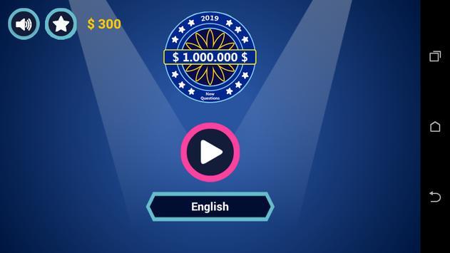 Millionaire Quiz - Fun Trivia Quiz Game poster