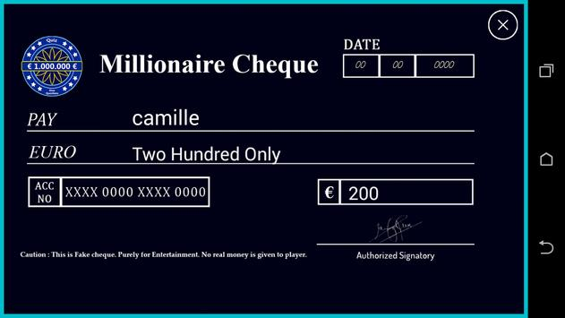 Millionaire Quiz screenshot 3