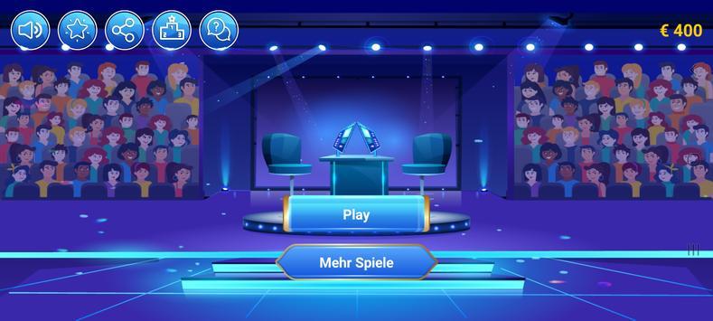 Neuer Millionär 2021 - Trivia Quiz game in German poster
