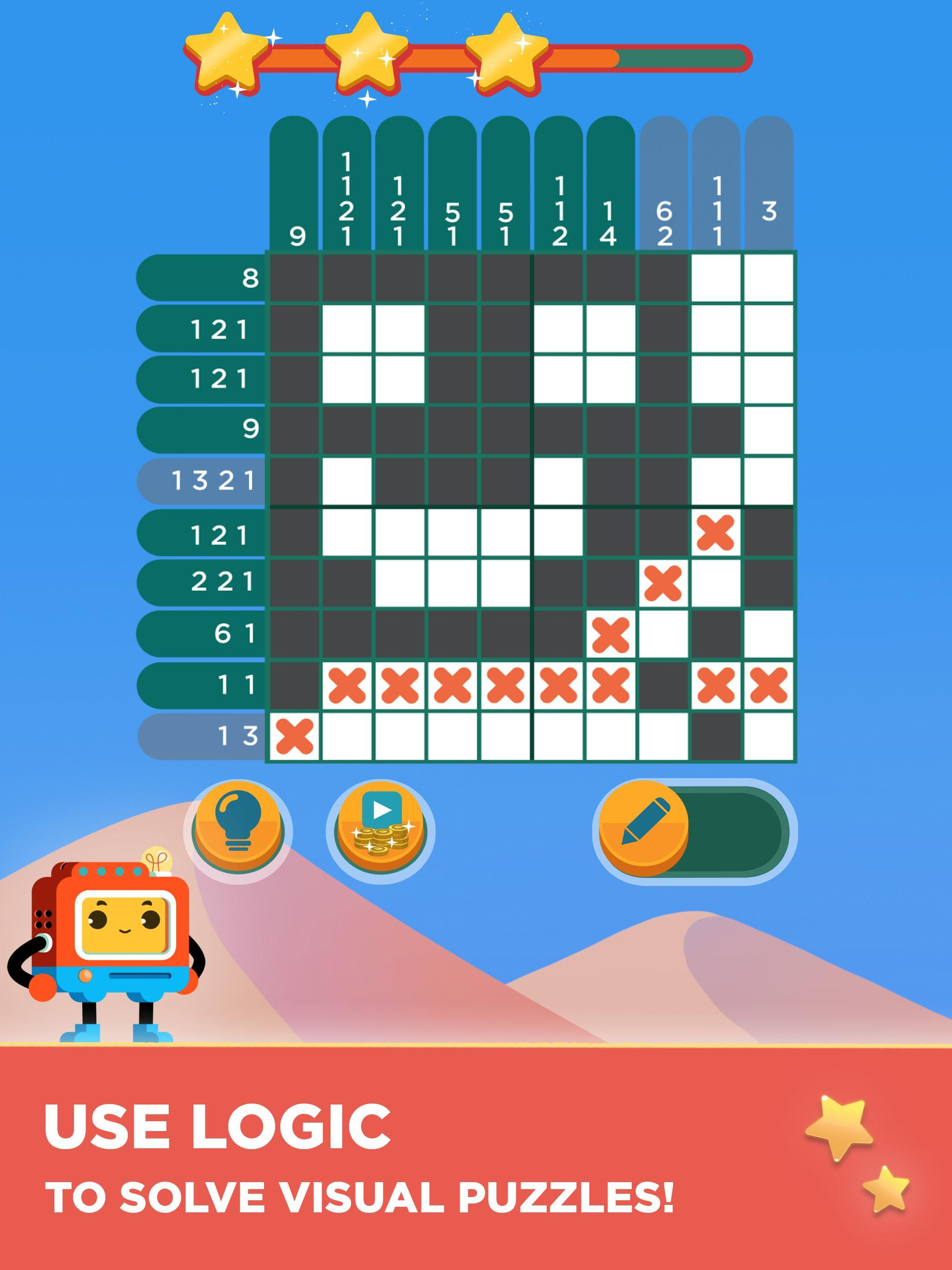 Quixel – Logic Puzzles for Android - APK Download
