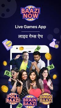 Live Quiz Games App, Trivia & Gaming App for Money poster