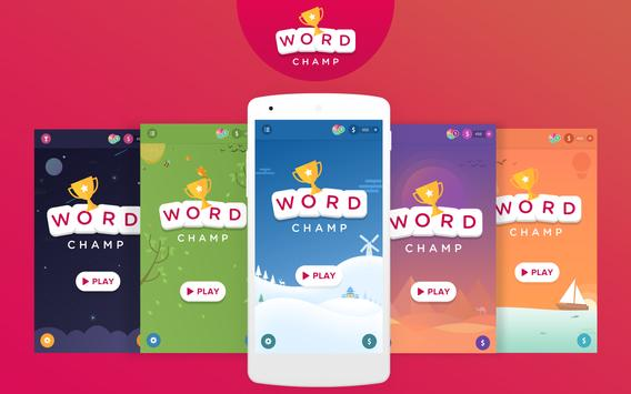 Word Games, Word Search Offline Game - Word Champ poster