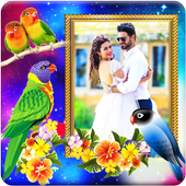 Love Birds Photo Frames icon