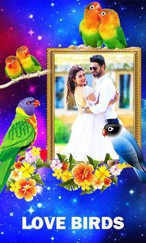 Love Birds Photo Frames poster
