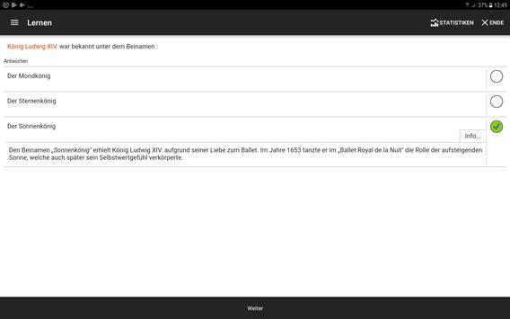 BRAINYOO: Karteikarten, Abfrage, und Lern App Screenshot 14