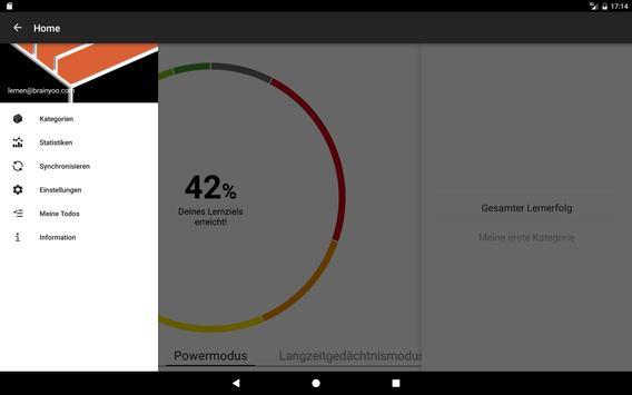 BRAINYOO: Karteikarten, Abfrage, und Lern App Screenshot 9