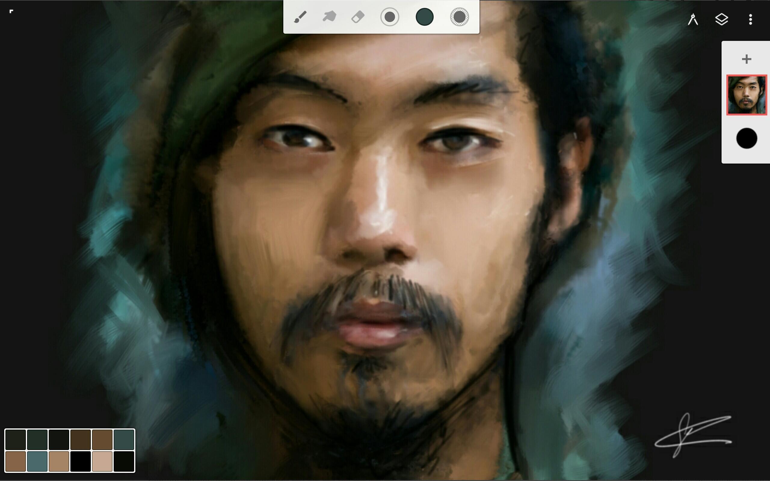 Infinite Painter poster