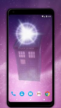TARDIS 3D Live Wallpaper screenshot 1