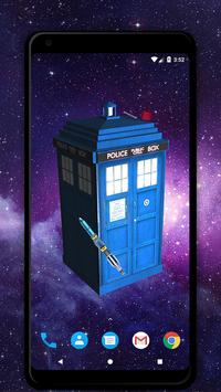 TARDIS 3D Live Wallpaper screenshot 2