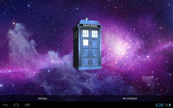 TARDIS 3D Live Wallpaper screenshot 3