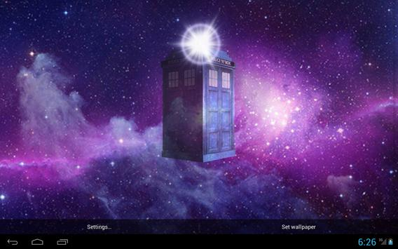 TARDIS 3D Live Wallpaper screenshot 4