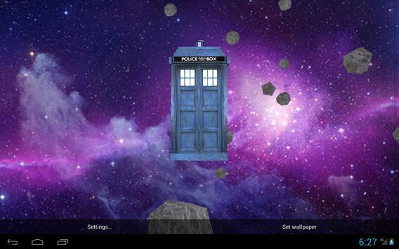 TARDIS 3D Live Wallpaper screenshot 5