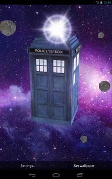TARDIS 3D Live Wallpaper screenshot 8