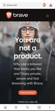 Brave Browser (Nightly) plakat