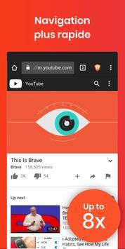 Navigateur Internet Brave : Web rapide et privé Affiche