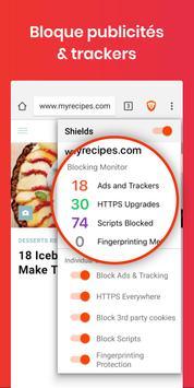 Navigateur internet privé Brave: private browser capture d'écran 1