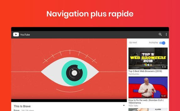 Navigateur Internet Brave : Web rapide et privé capture d'écran 8