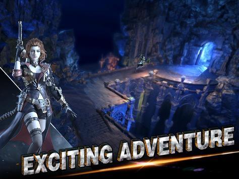 Brave Blades: Discord War 3D Action Fantasy MMORPG imagem de tela 3