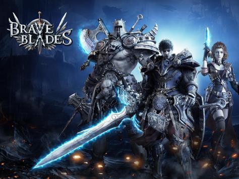 Brave Blades: Discord War 3D Action Fantasy MMORPG imagem de tela 8