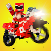 Blocky Superbikes Race Game icon