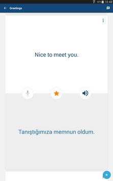 Learn Turkish Free - Phrasebook | Translator screenshot 6
