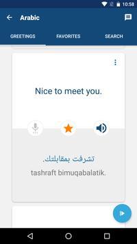Learn Arabic - Phrasebook | Translator screenshot 2