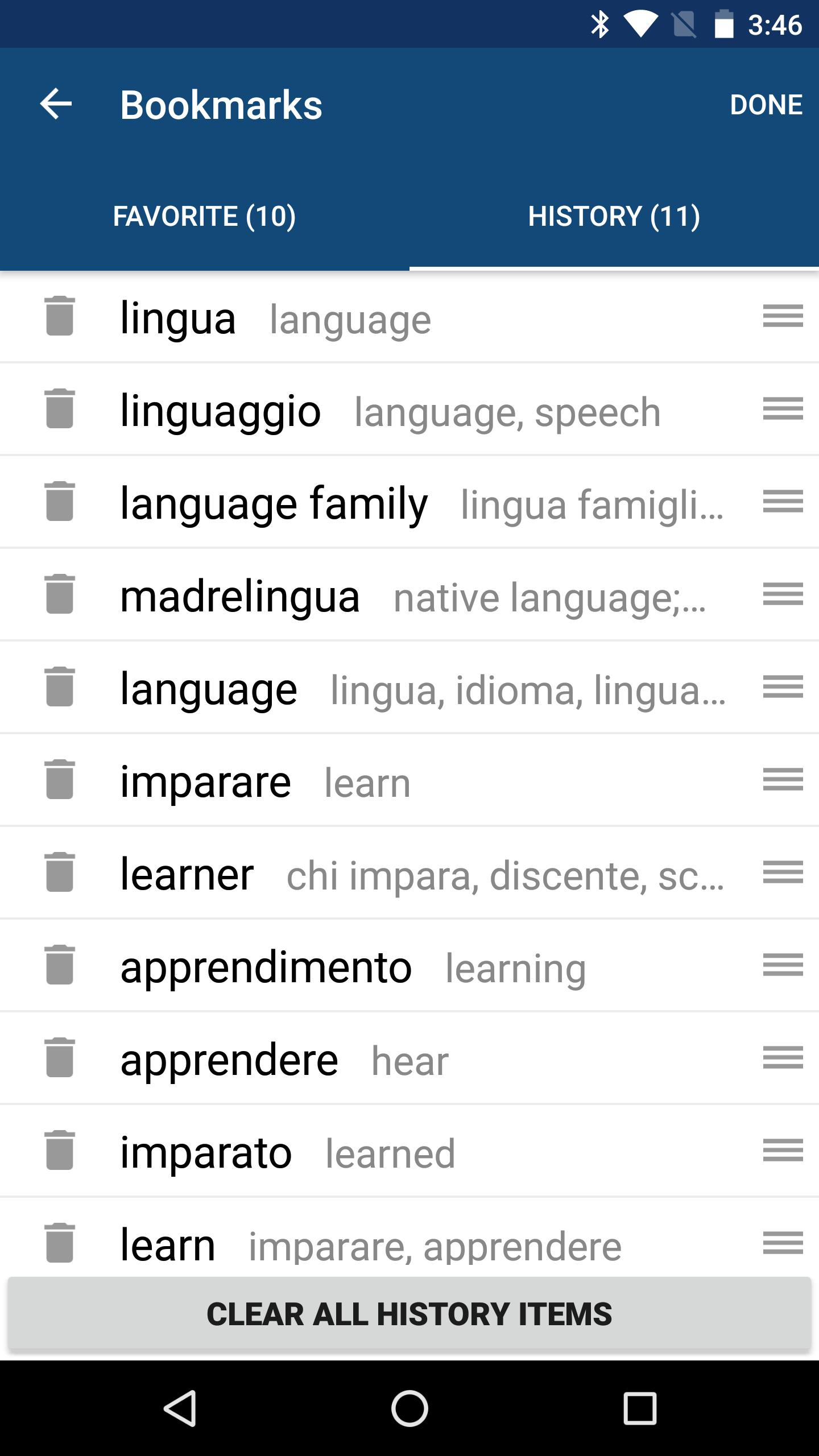 Translator Italian: Italian English Dictionary & Translator Free For Android