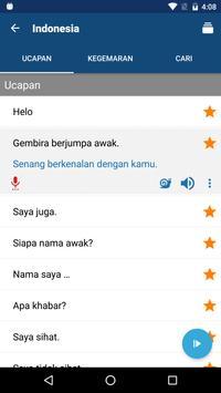 Belajar bahasa Indonesia - Buku Frasa/Penterjemah syot layar 1